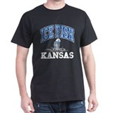 Ice Fish Kansas T-Shirt