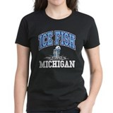 Ice Fish Michigan Tee