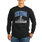 Ice Fish Michigan T