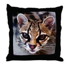 Margay Throw Pillow