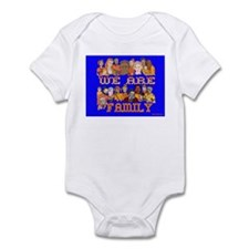 We Are Family Infant Bodysuit