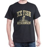 Ice Fish Wisconsin T-Shirt