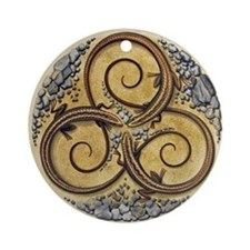 Celtic Lizards Ornament