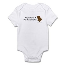chocolate lab gifts Infant Bodysuit