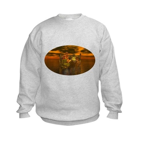 Golden Angel Kids Sweatshirt