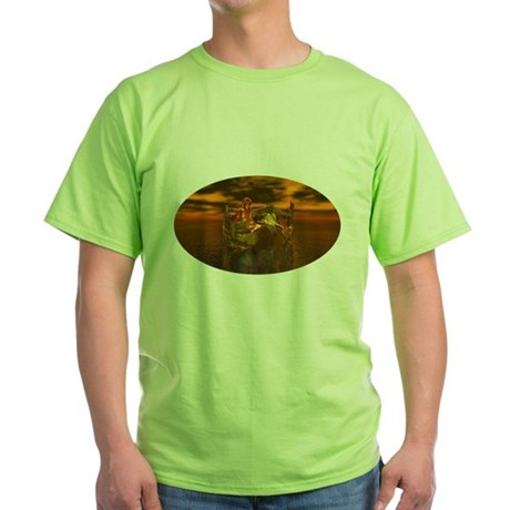 Golden Angel Green T-Shirt