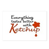 Ketchup Postcards (Package of 8)