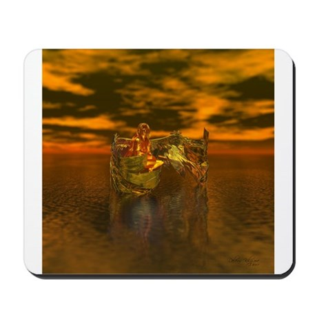 Golden Angel Mousepad