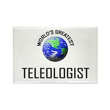 World's Greatest TELEOLOGIST Rectangle Magnet (10