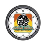 Animal Rescue Chimpanzee Wall Clock
