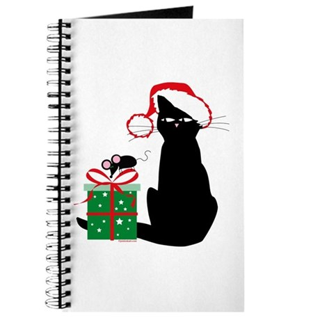 Santa Cat & Mouse Journal