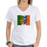 Four Provinces Flag Women's V-Neck T-Shirt