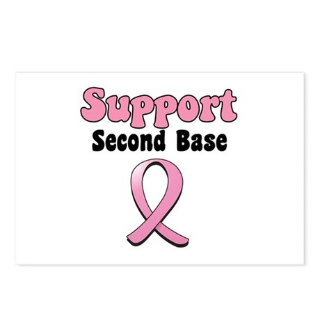 Support Second Base Postcards (Package of 8)