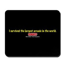 I Survived The Largest Arcade Mousepad