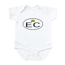 Ecuador 1F Infant Bodysuit
