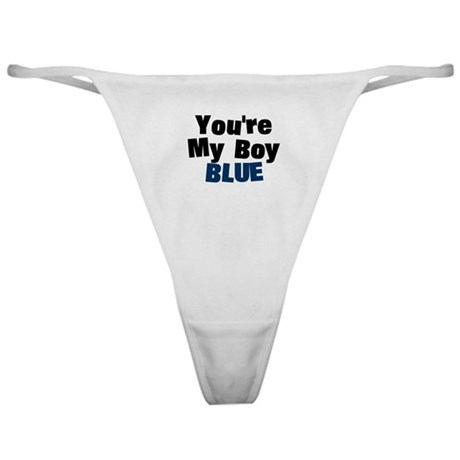 Your My Boy Blue Classic Thong