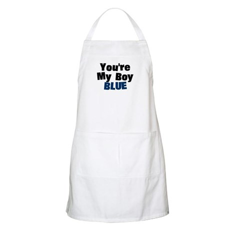 Your My Boy Blue BBQ Apron