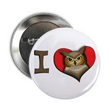 I heart owls 2.25&quot; Button