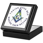 Taking Good Men Keepsake Box