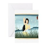 Tai chi cards Greeting Cards (20 Pack)