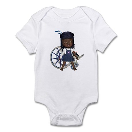Katy Broken Right Arm Infant Bodysuit