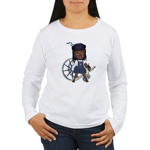 Katy Broken Right Arm Women's Long Sleeve T-Shirt