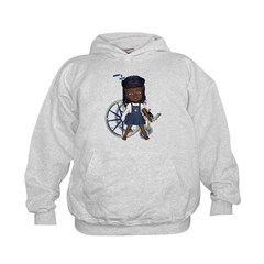Katy Broken Right Arm Kids Hoodie