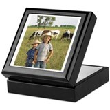 Shippy Rodeo Bulls Keepsake Box