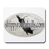 Shippy Rodeo Bulls  Mousepad
