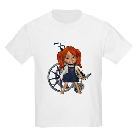 Broken Rt Arm Kids Light T-Shirt