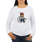 Kevin Broken Rt Arm Women's Long Sleeve T-Shirt
