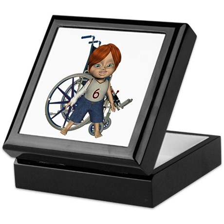 Kevin Broken Rt Arm Keepsake Box