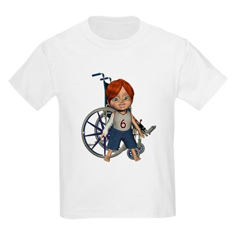 Kevin Broken Rt Arm Kids Light T-Shirt