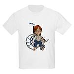 Kevin Broken Rt Arm Kids Light T-Shirt