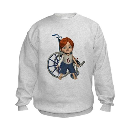 Kevin Broken Rt Arm Kids Sweatshirt