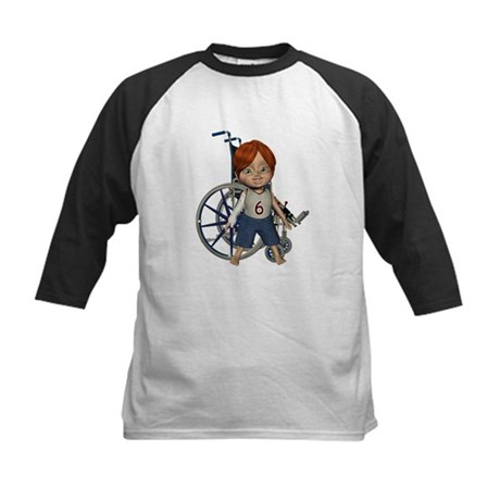 Kevin Broken Rt Arm Kids Baseball Jersey