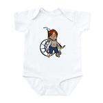 Kevin Broken Rt Arm Infant Bodysuit