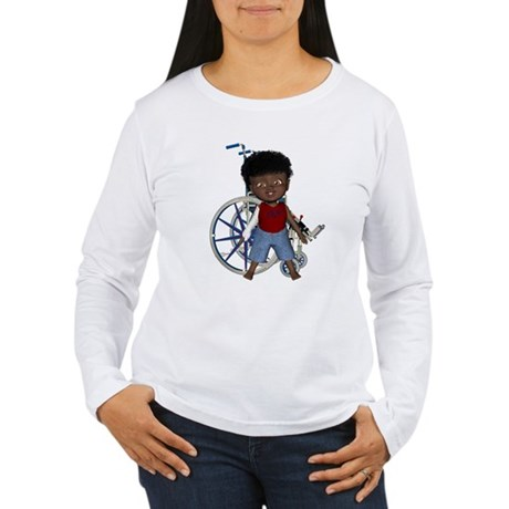 Keith Broken Rt Arm Women's Long Sleeve T-Shirt