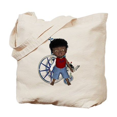 Keith Broken Rt Arm Tote Bag