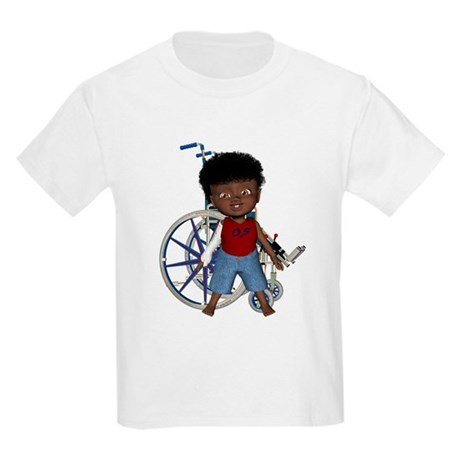 Keith Broken Rt Arm Kids Light T-Shirt