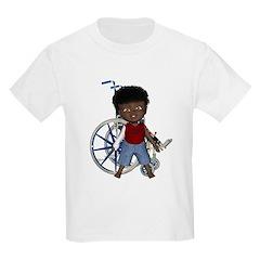 Keith Broken Rt Arm Kids Light T-Shirt