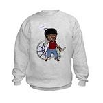Keith Broken Rt Arm Kids Sweatshirt