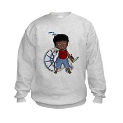 Keith Broken Rt Arm Kids Sweatshirt