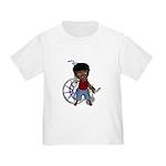 Keith Broken Rt Arm Toddler T-Shirt