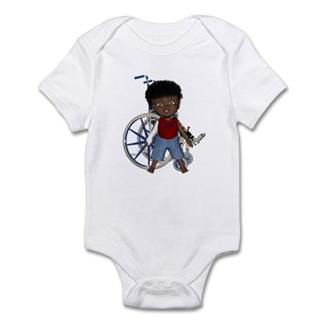 Keith Broken Rt Arm Infant Bodysuit
