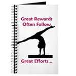 Gymnastics Journal - Rewards