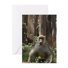 CHILL OUT BABOON Greeting Cards (Pk of 10)