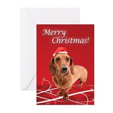 Dachshund Christmas Cards (Pack of 10)