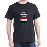 #1 Syrian Dad T-Shirt
