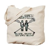 Lacrosse CoEd Naked Tote Bag